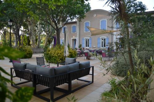 Auberge du Château de Bonnafous : Hotel near Jonquières