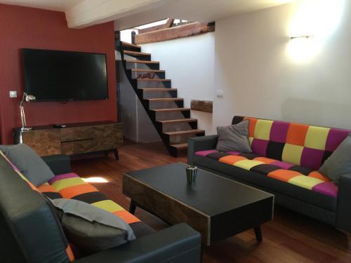 Au Pan De Bois : Apartment near Honfleur