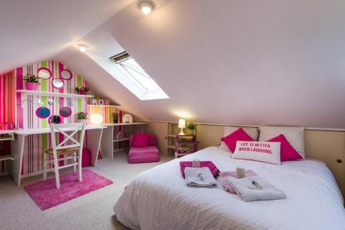 2 chambres d'hôte proche Lille Gare : Bed and Breakfast near Marcq-en-Barœul