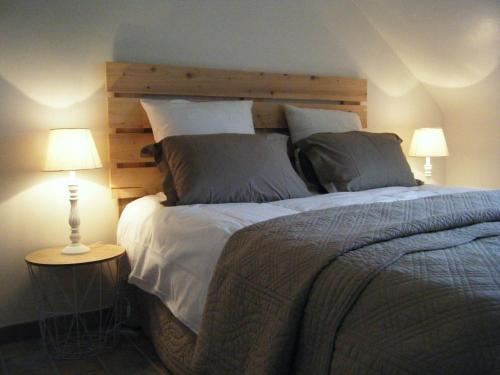 Les chambres du Manoir de Kerhel : Bed and Breakfast near Sainte-Hélène