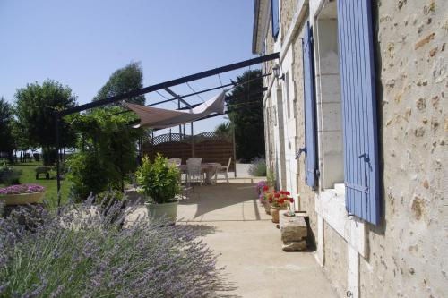 La Maison Du Pompinaud : Bed and Breakfast near Saint-Angeau