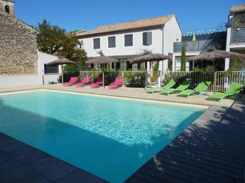 La Maison d'Ambrine - Les Gîtes : Apartment near Richerenches