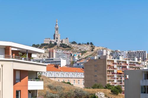 ClubLord - Pharo - Spacieux T3 à l'entrée du Vieux Port ! : Apartment near Marseille 7e Arrondissement