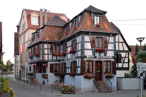 Hotel Dontenville : Hotel near Muttersholtz