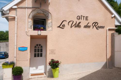 La Villa des Roses : Guest accommodation near Cuisles