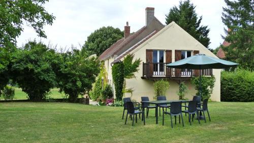 La Petite Montoise : Apartment near Dampierre-sous-Bouhy