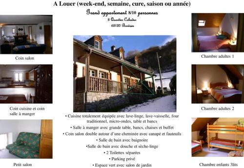 Bareges Louisette : Guest accommodation near Betpouey