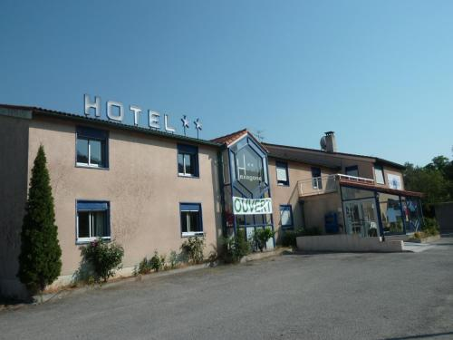 Hôtel Hexagone : Hotel near Rodès
