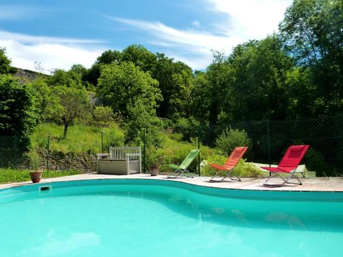 Le Domaine de la Croze : Bed and Breakfast near Lavergne