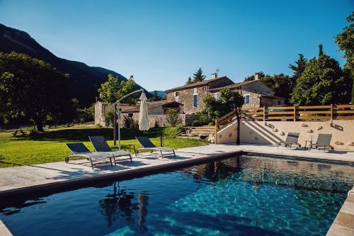 Mas De La Lance : Bed and Breakfast near Roche-Saint-Secret-Béconne