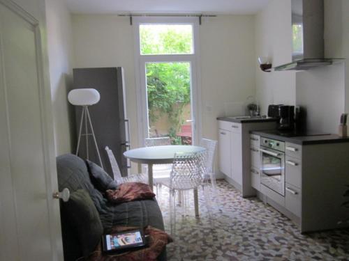 Cote jardin et l'Escapade : Apartment near Saint-Germain-de-Salles