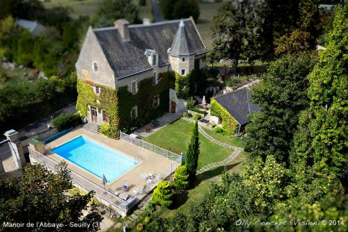 Manoir de l'Abbaye : Bed and Breakfast near Thizay