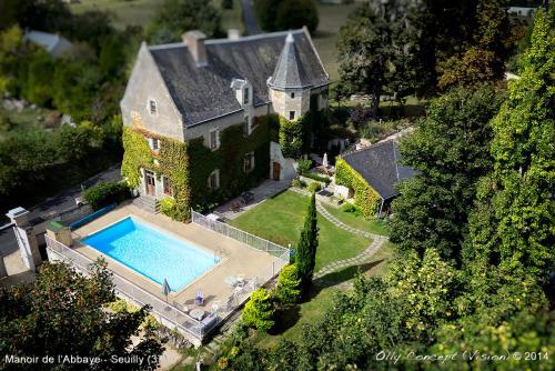 Manoir de l'Abbaye : Bed and Breakfast near Lerné