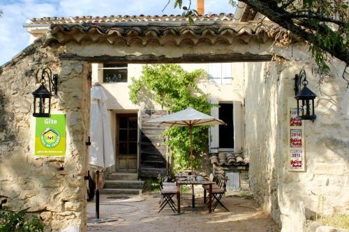 Mas de la Gonnette : Guest accommodation near Le Beaucet