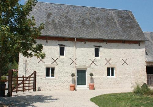 Gite Ferme d'Ervée de Saint-Roch : Guest accommodation near Vouilly