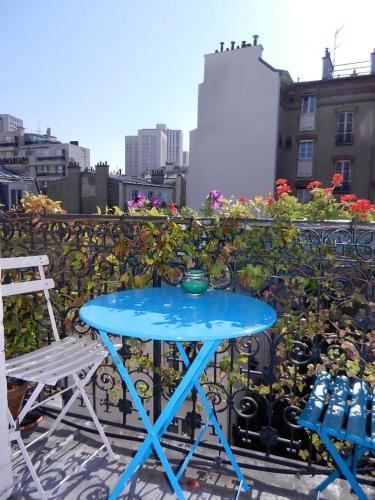 Beau 2 pieces avec balcon Paris parc des Buttes chaumont : Apartment near Paris 19e Arrondissement