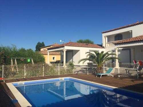 Villa Soleil et Calme : Guest accommodation near Gallargues-le-Montueux