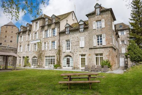 Résidence Thermale De La Chaldette : Apartment near Recoules-d'Aubrac