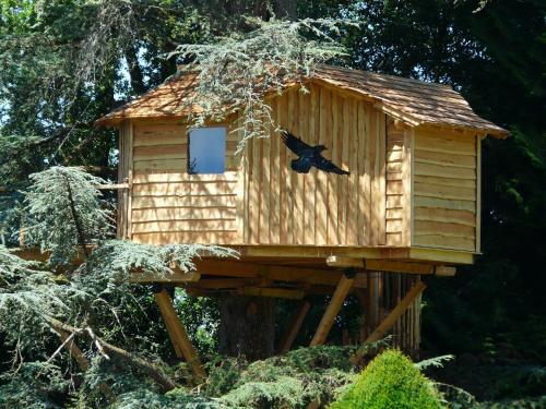 Cabanes du Temps Suspendu : Hotel near Rivehaute