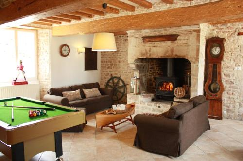 L'Escale : Guest accommodation near Vouilly