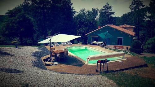la Villa des Moulins : Guest accommodation near Puihardy