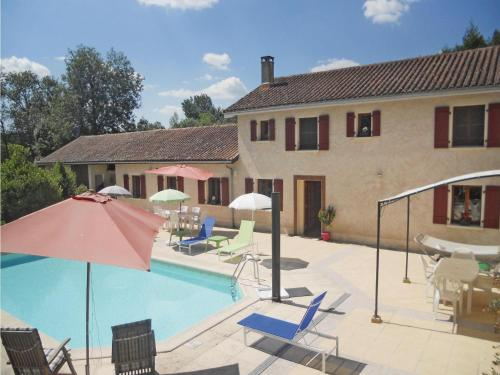 Holiday home Moulin Cacaud N-609 : Guest accommodation near La Tour-Blanche