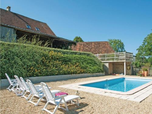 Holiday Home Torsac - 08 : Guest accommodation near Dussac