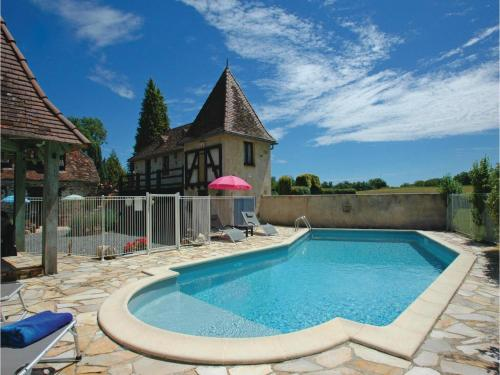Holiday home Savigvac-Lédrier 77 with Outdoor Swimmingpool : Guest accommodation near Saint-Mesmin