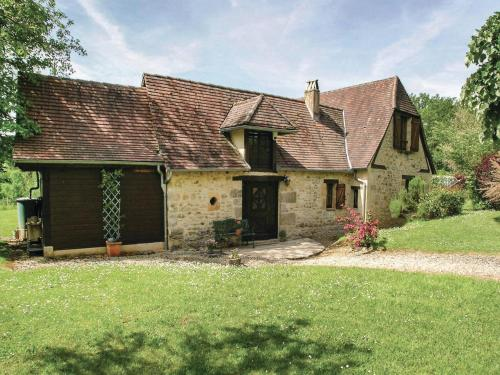 Holiday Home Fleurac with Fireplace I : Guest accommodation near Savignac-de-Miremont