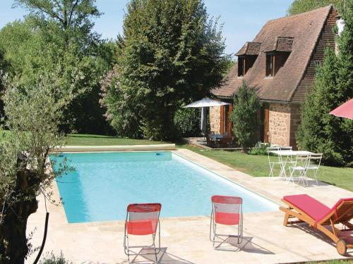 Holiday Home Boisseuilh with Fireplace XI : Guest accommodation near La Chapelle-Saint-Jean