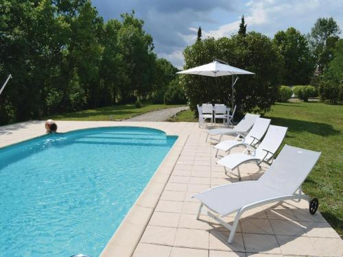 Holiday home Soubeyrac Bas J-659 : Guest accommodation near Laussou