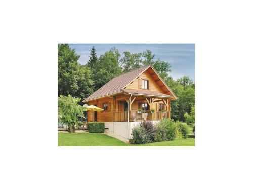Holiday Home Sceau St. Angel Bateliere : Guest accommodation near Saint-Martial-de-Valette