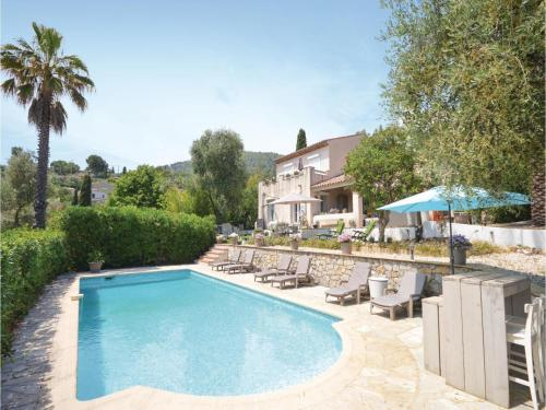 Four-Bedroom Holiday Home in Le Tignet : Guest accommodation near Saint-Vallier-de-Thiey