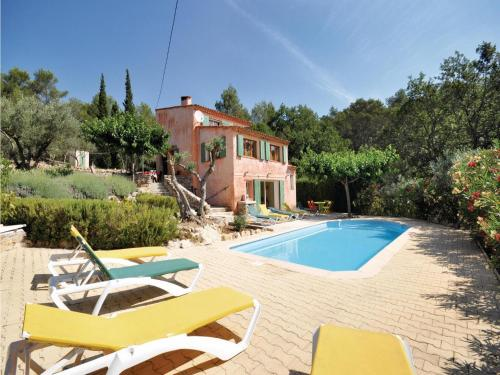 Holiday home Chemin de Belinarde : Guest accommodation near Le Thoronet