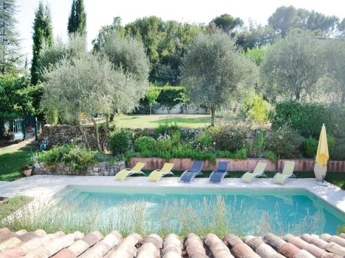 Holiday Home Le Rouret with a Fireplace 09 : Guest accommodation near Valbonne