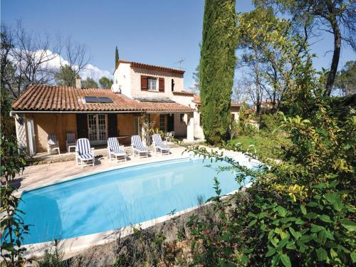 Holiday Home Fayence with Fireplace I : Guest accommodation near Fayence