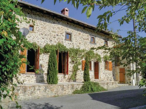 Holiday Home Massignac with Fireplace I : Guest accommodation near Verneuil
