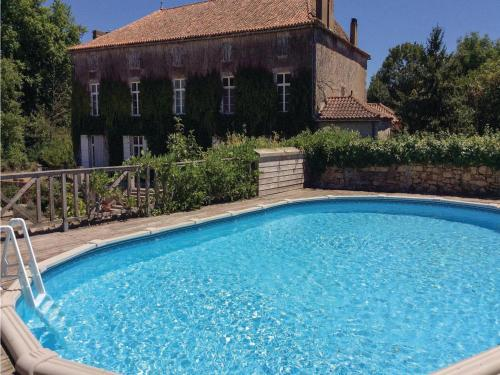 Two-Bedroom Holiday Home in Feuillade : Guest accommodation near Bussière-Badil