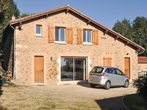 Four-Bedroom Holiday home Mouzon with a Fireplace 04 : Guest accommodation near Pressignac
