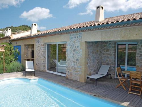 Holiday home Durban Corbieres 77 with Outdoor Swimmingpool : Guest accommodation near Embres-et-Castelmaure