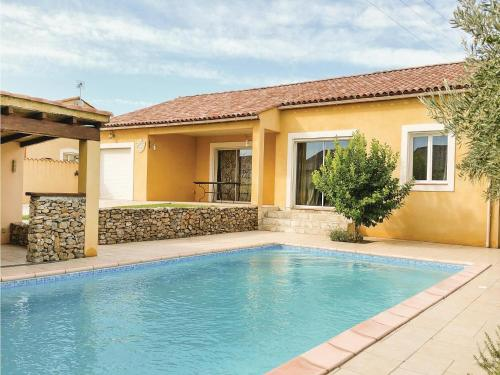 Five-Bedroom Holiday Home in Saint Nazaire d'Aude : Guest accommodation near Moussan