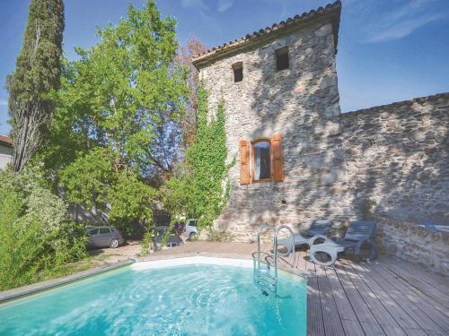 Apartment Chateau de la Favéde : Apartment near Branoux-les-Taillades