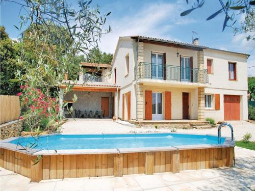 Holiday home Vallabrix with Outdoor Swimming Pool 405 : Guest accommodation near Pougnadoresse