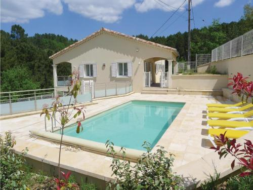 Holiday Home Molières-sur-Cèze - 09 : Guest accommodation near Saint-Florent-sur-Auzonnet