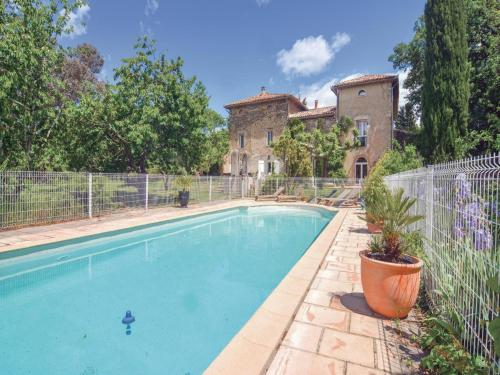 Holiday Home Saint-Ambroix with Fireplace I : Guest accommodation near Allègre-les-Fumades