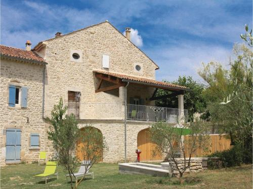 Two-Bedroom Holiday Home in Barjac : Guest accommodation near Barjac