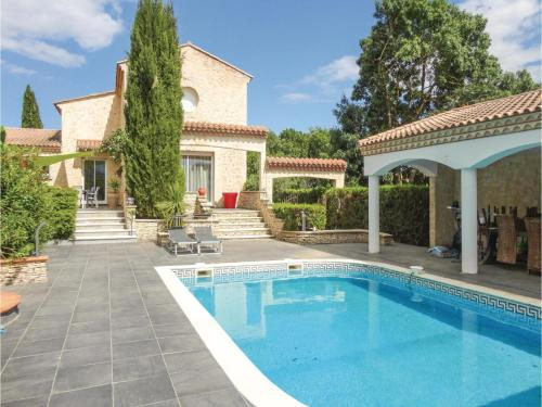 Five-Bedroom Holiday Home in Thezan les Beziers : Guest accommodation near Corneilhan