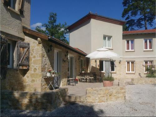 Four-Bedroom Holiday Home in Malegoude : Guest accommodation near Cazalrenoux