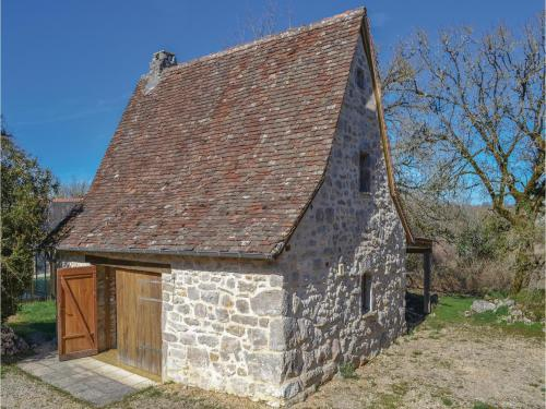 One-Bedroom Holiday Home in Padirac : Guest accommodation near Carennac