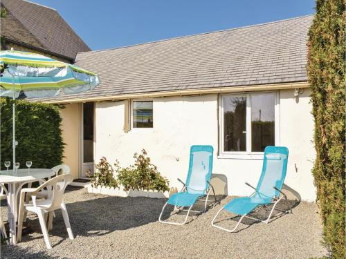 One-Bedroom Holiday Home in La Cambe : Guest accommodation near Isigny-sur-Mer